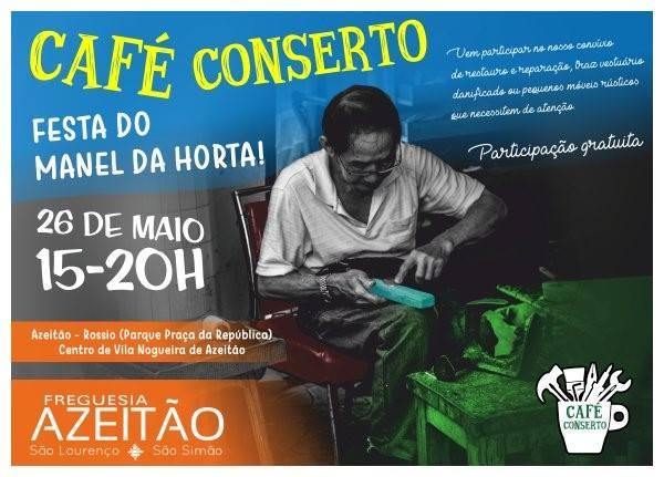 Café ConSerto na Festa do Manel da Horta de 2018 em Azeitão
