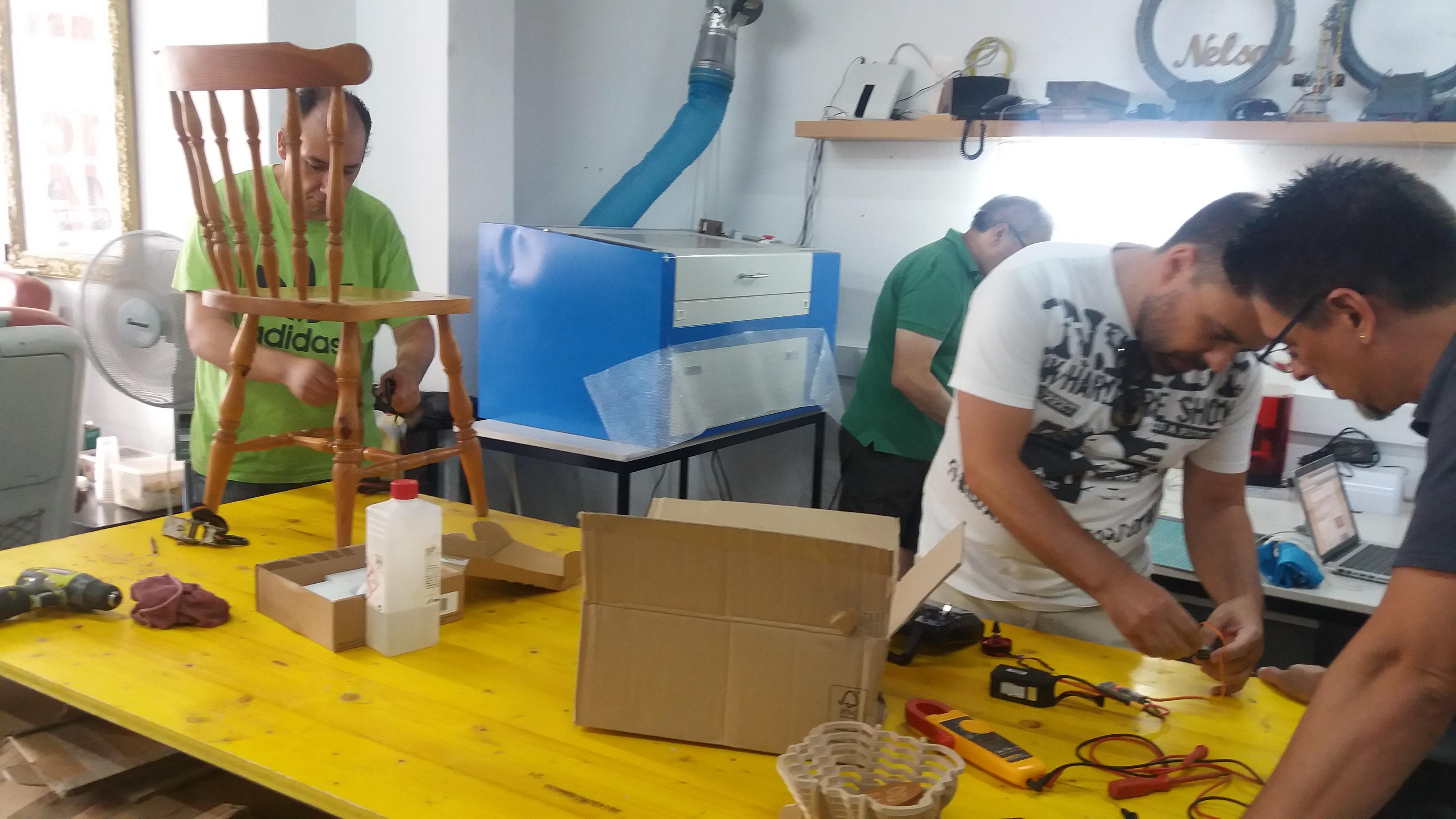 Café ConSerto na Oficina D'Almada Makerspace