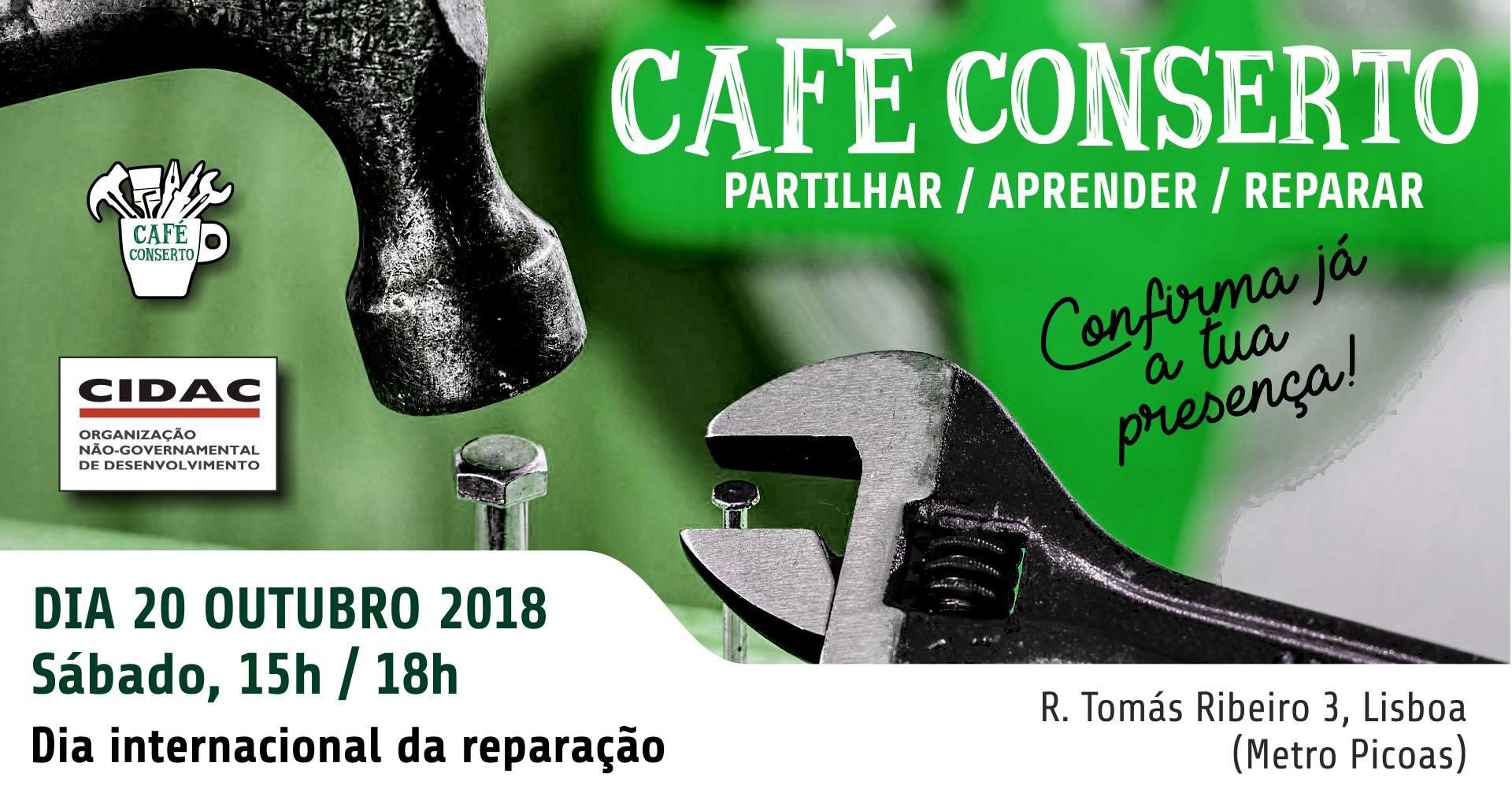 Café ConSerto no CIDAC em Lisboa